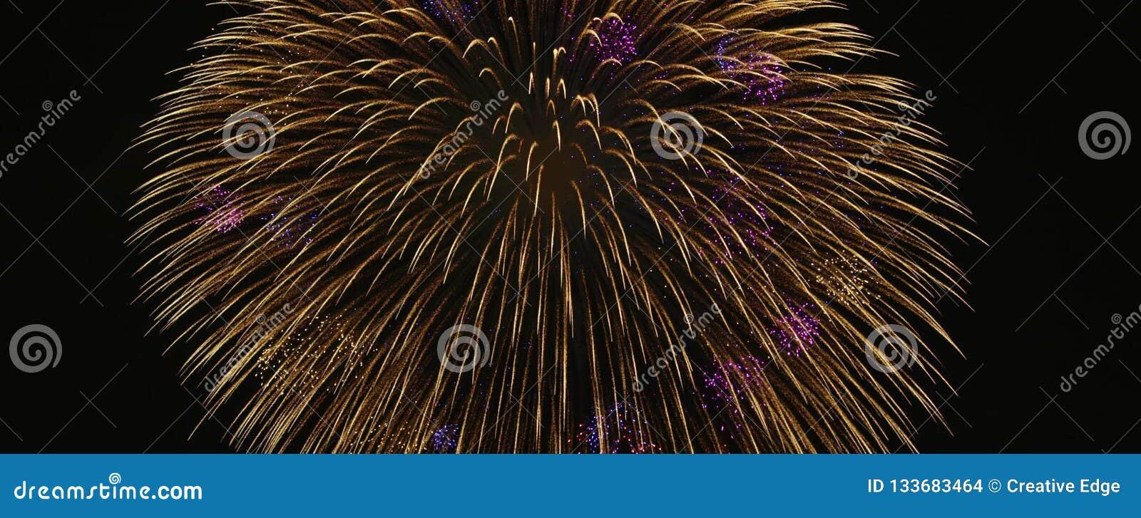 Japanese Superb view fireworks