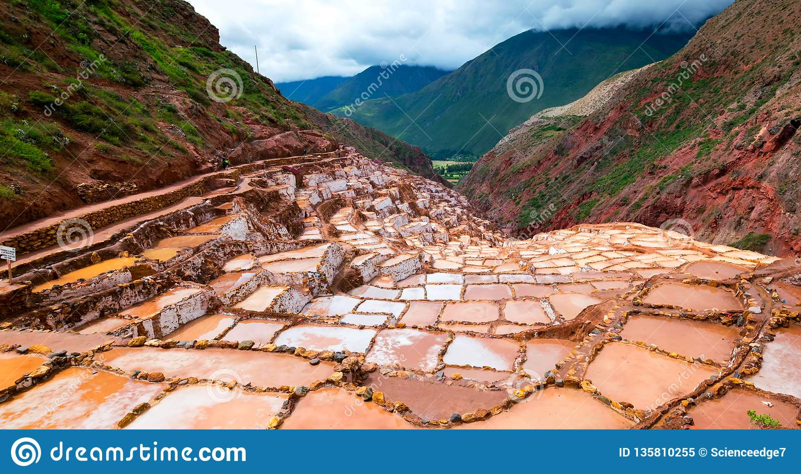 Stock image of the landscape of Peru