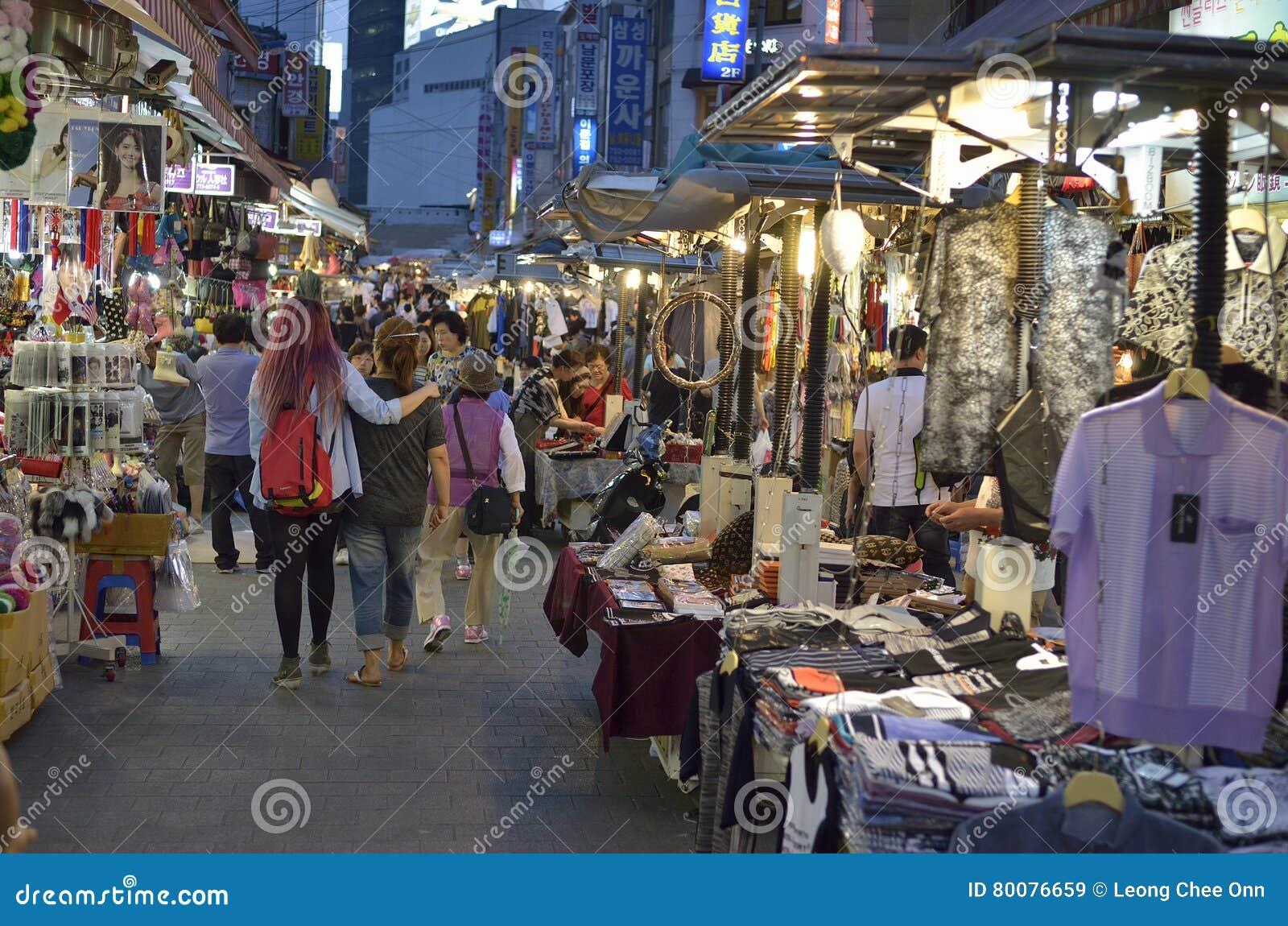 0df1949164d09 Stock Image Of Namdaemun Market In Seoul, South Korea Editorial ...