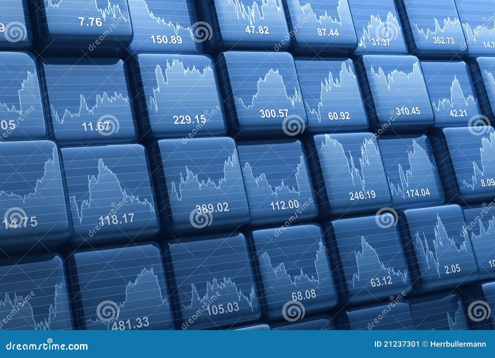 Stock index cubes