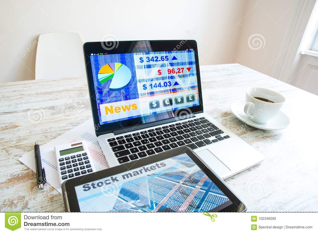 Stock market calculations and trading with a tablet pc and lapto download comp ccuart Image collections