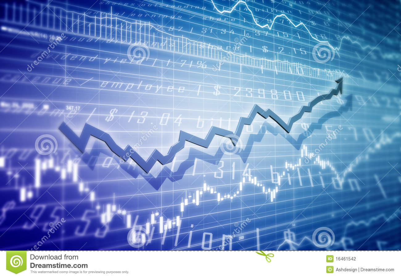 Stock Market Illustration Stock Illustration. Image Of