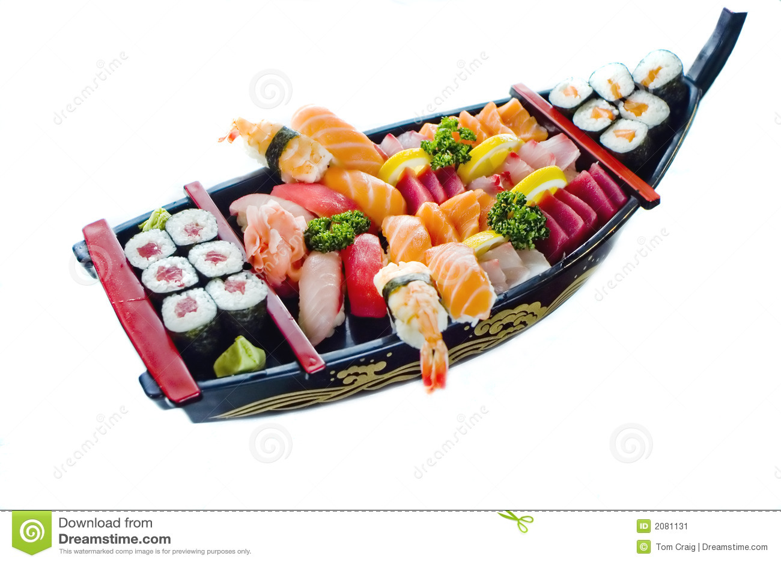Stock Photo of japanese Food,