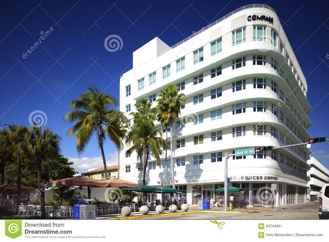 Stock Photo Of Lincoln Road Miami Beach Fl Editorial Photo Image