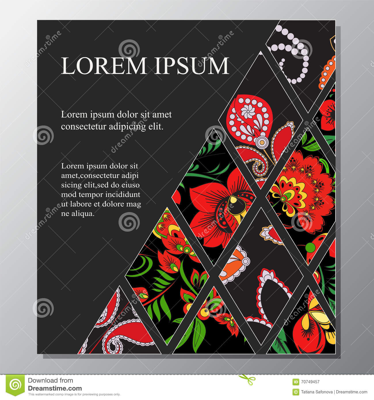 Book Cover Template Office : Stock template for brochure card cover book
