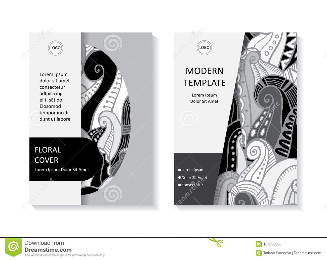 Stock Vector Art Brochure Template Layout Design Corporate Bus
