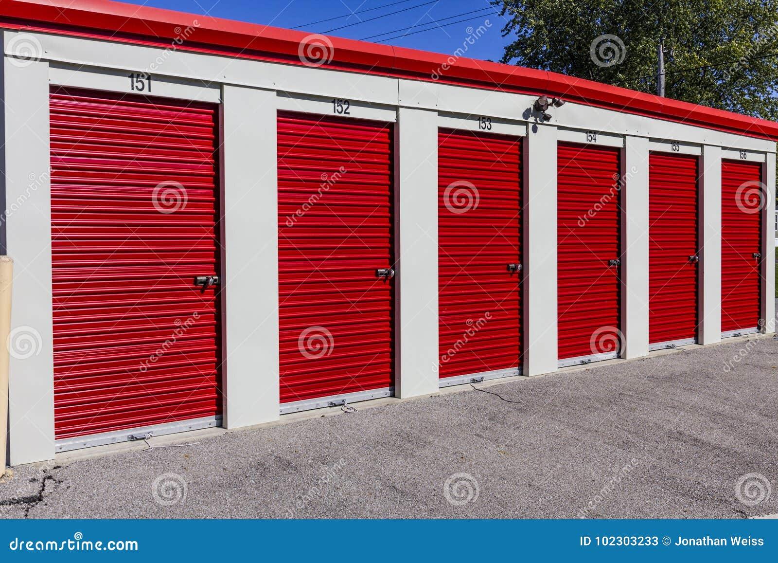 Stockage numéroté d individu et mini unités de garage de stockage I