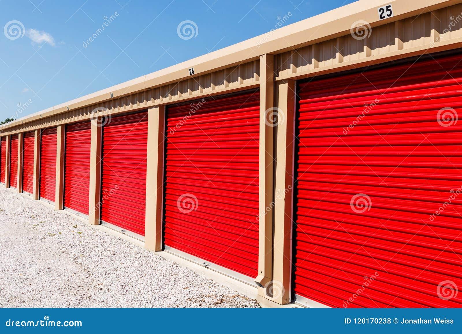Stockage numéroté d individu et mini unités de garage de stockage III