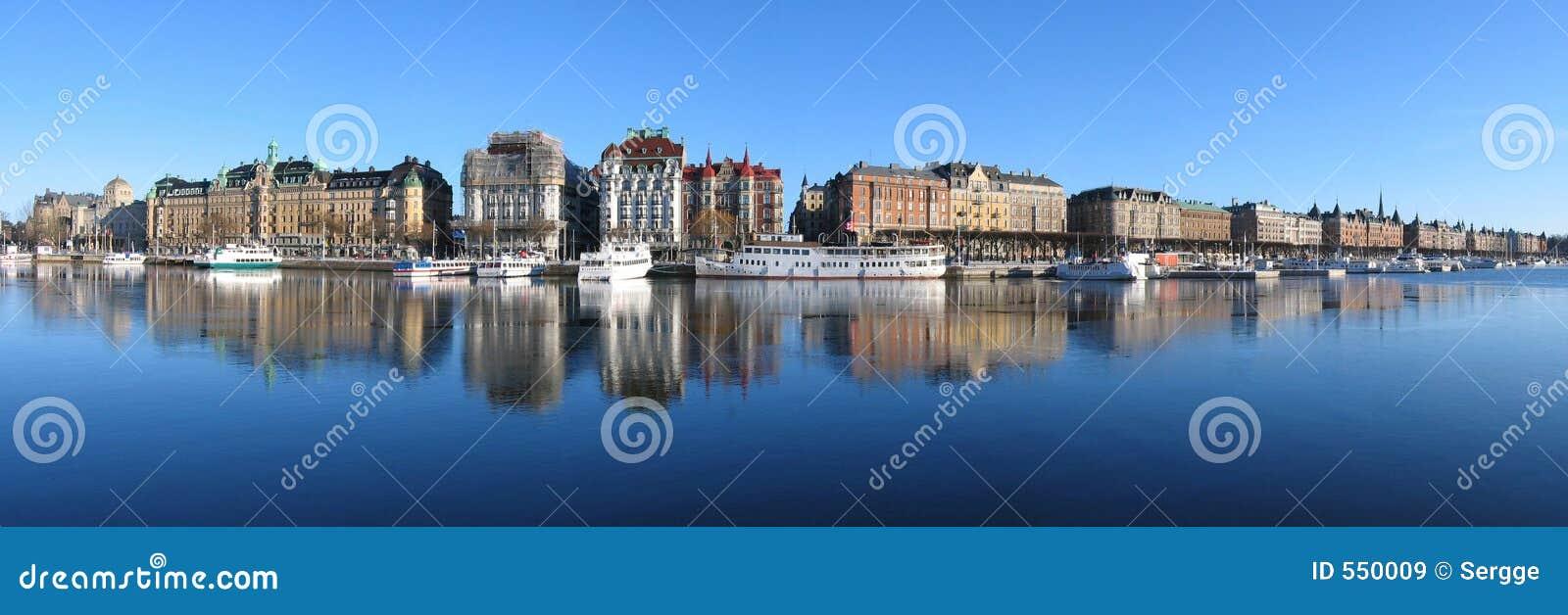 Stockholm. Big panorama.