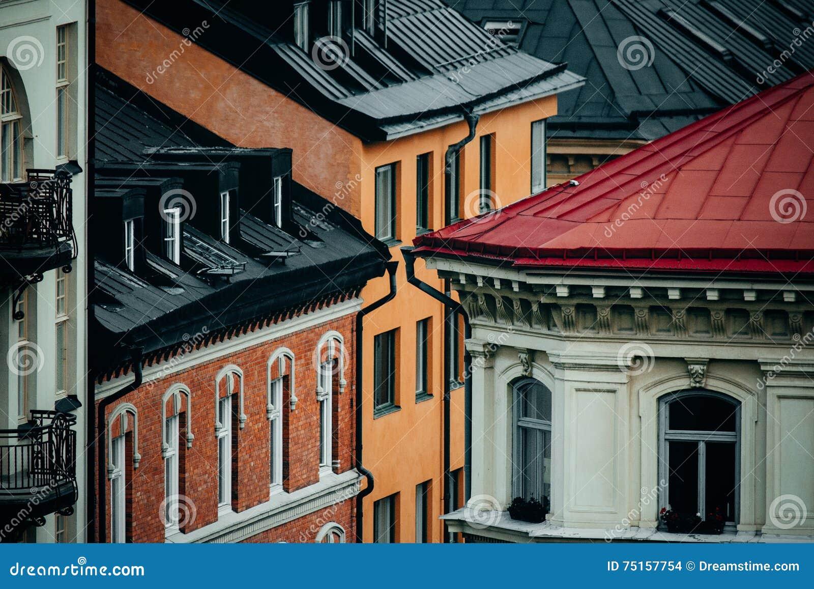 Stockholm-Dächer