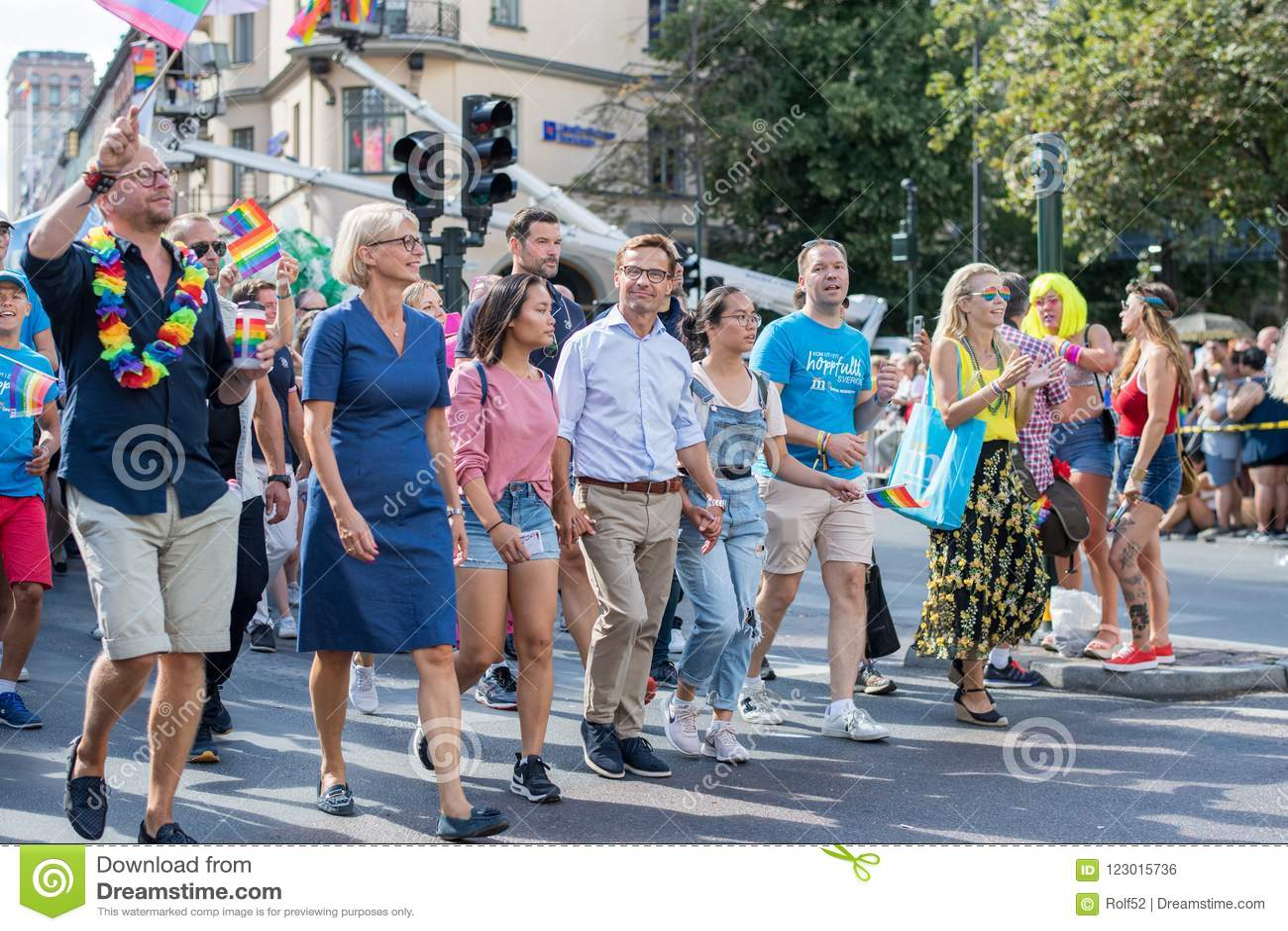 EuroPride 2018 with Stockholm Pride Parade