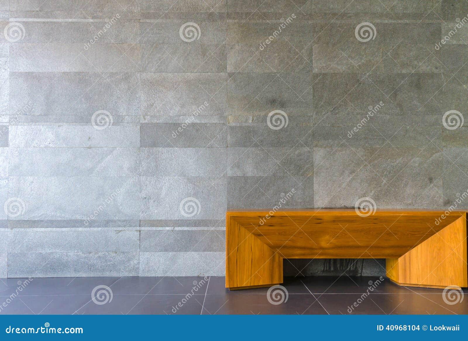 Stoel In De Woonkamer, Marmeren Muur Stock Foto - Afbeelding: 40968104