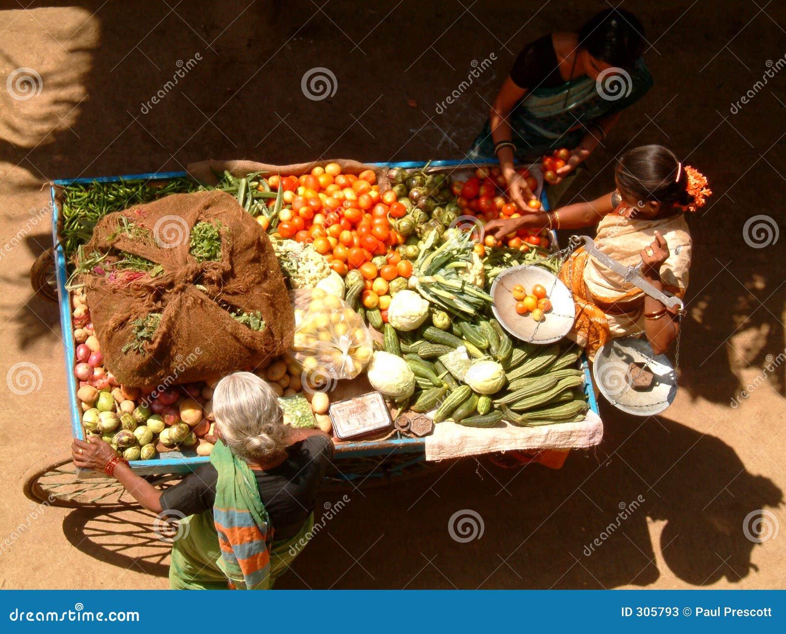 Stoiskowy ambulatoryjny warzyw