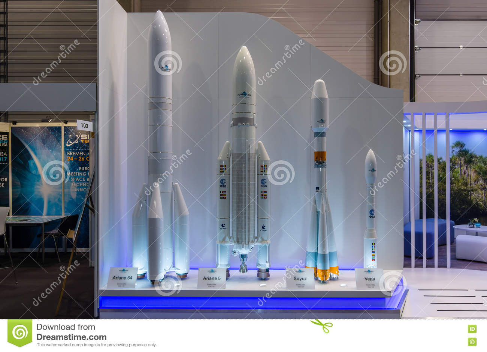 Stojak europejska agencja kosmiczna