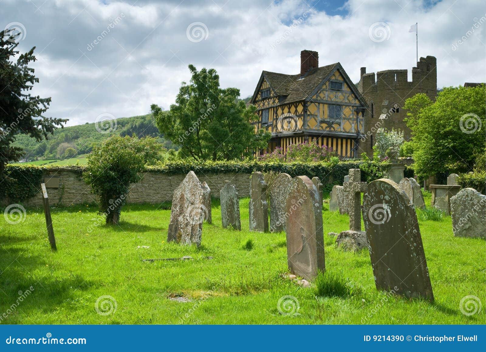 Stokesay Schloss