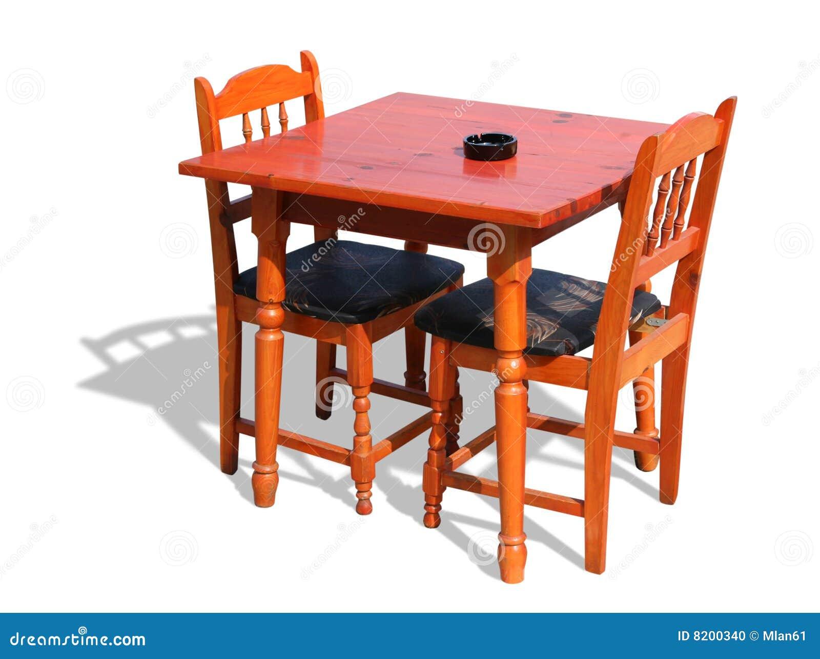 Stolar table trä
