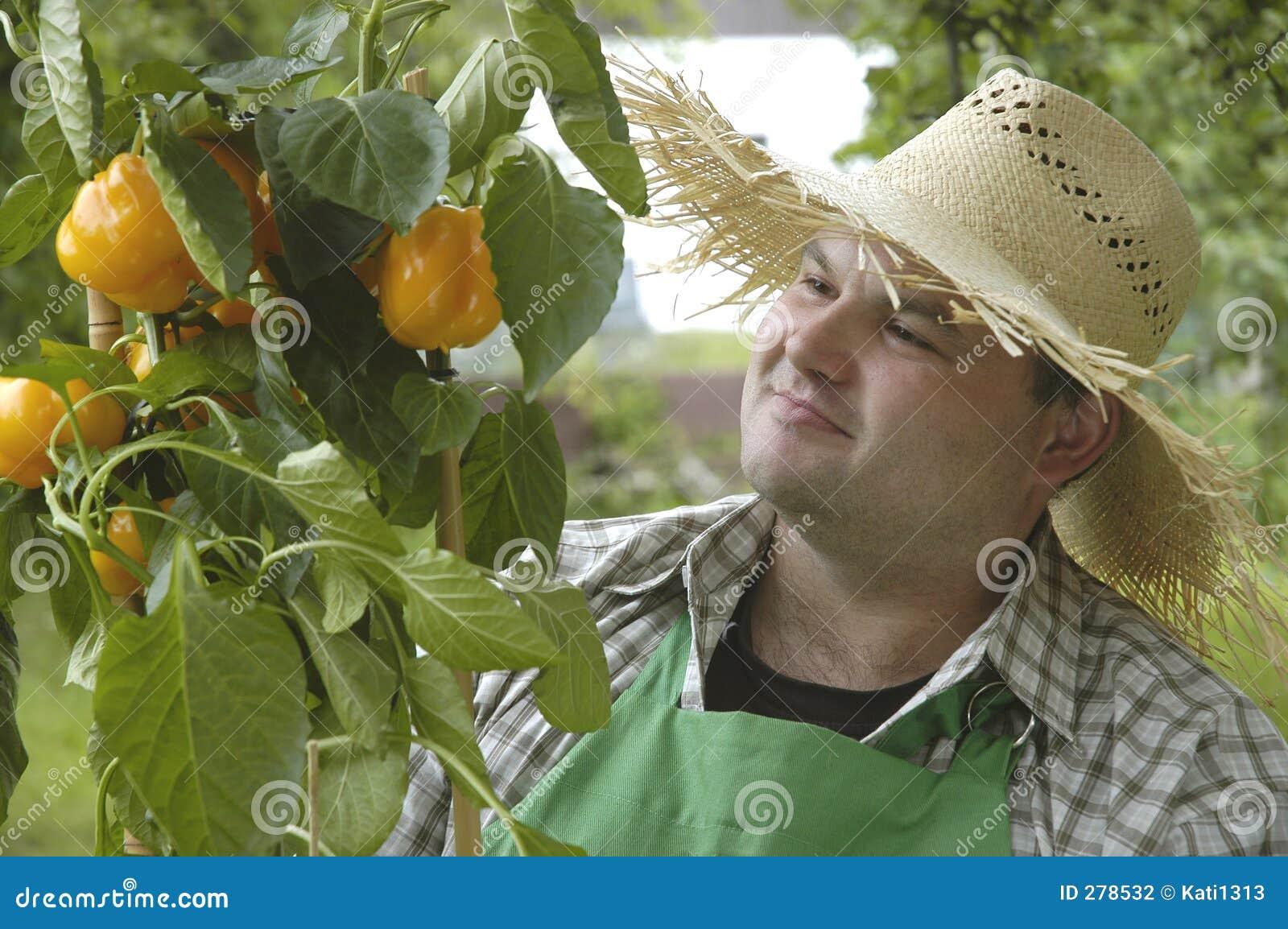 Stolt trädgårdsmästare