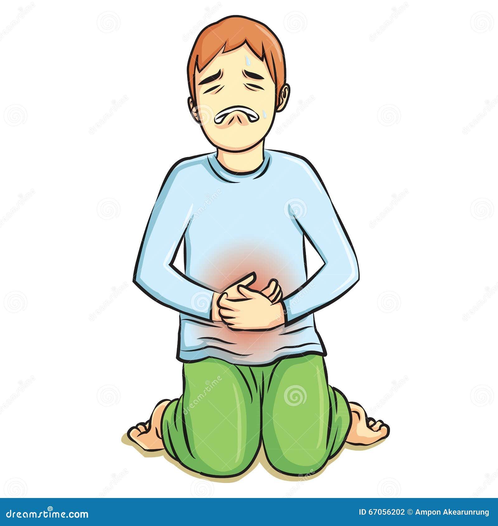 stomach ache stock vector illustration of male diarrhea 67056202 dreamstime com