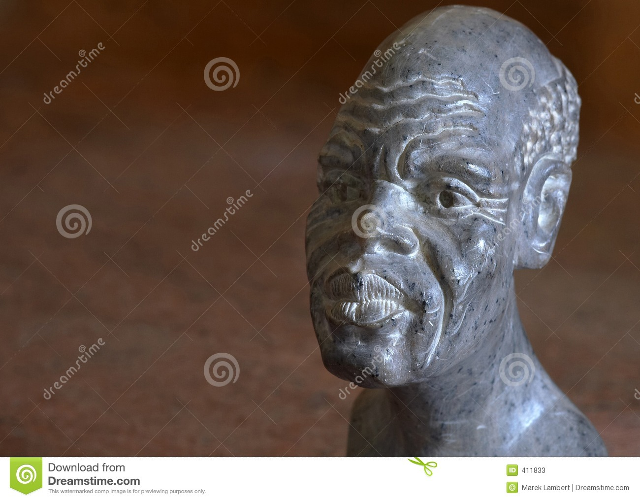 Stone african head stock photos image