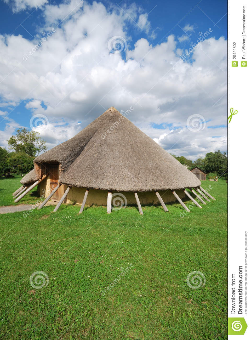 Age Home: Stone Age Home Stock Photo. Image Of House, Stone, Wooden
