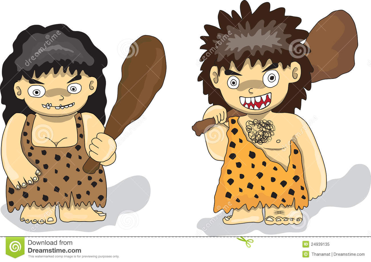 Stone Age People Royalty Free Stock Photo - Image: 24939135