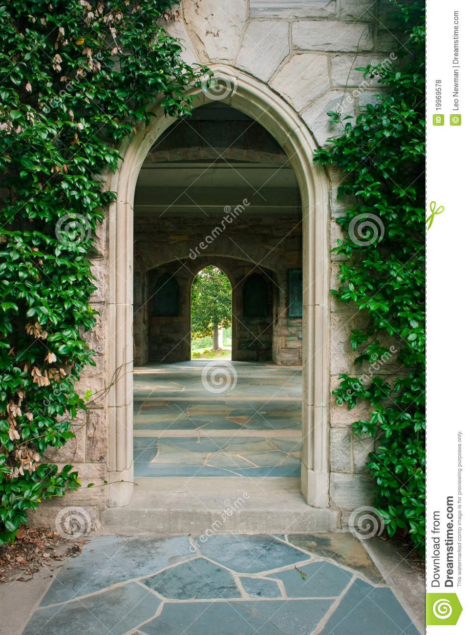 Stone Arch Doorway Royalty Free Stock Photos Image 19969578