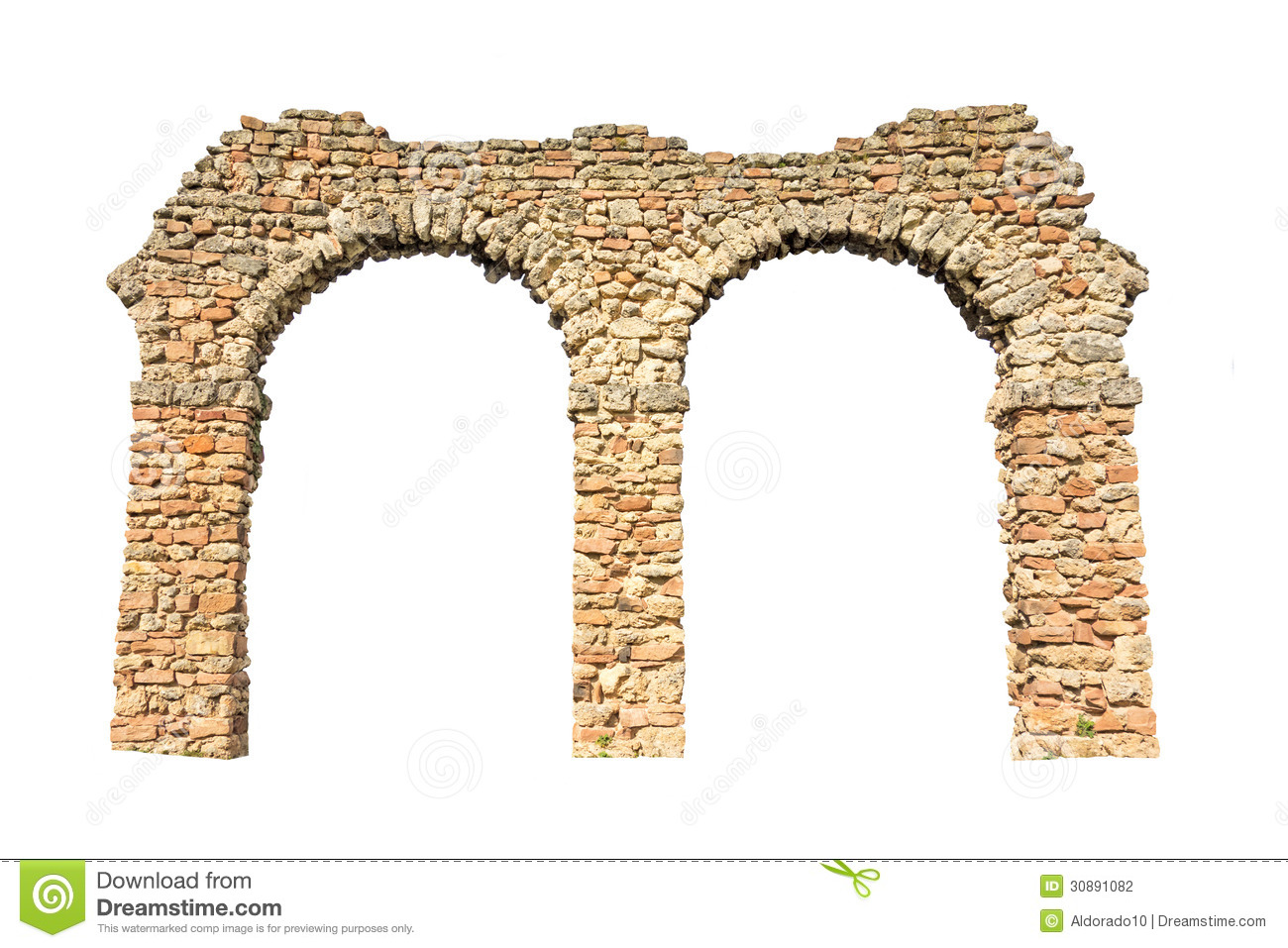Stone Arch Stock Photography Image 30891082