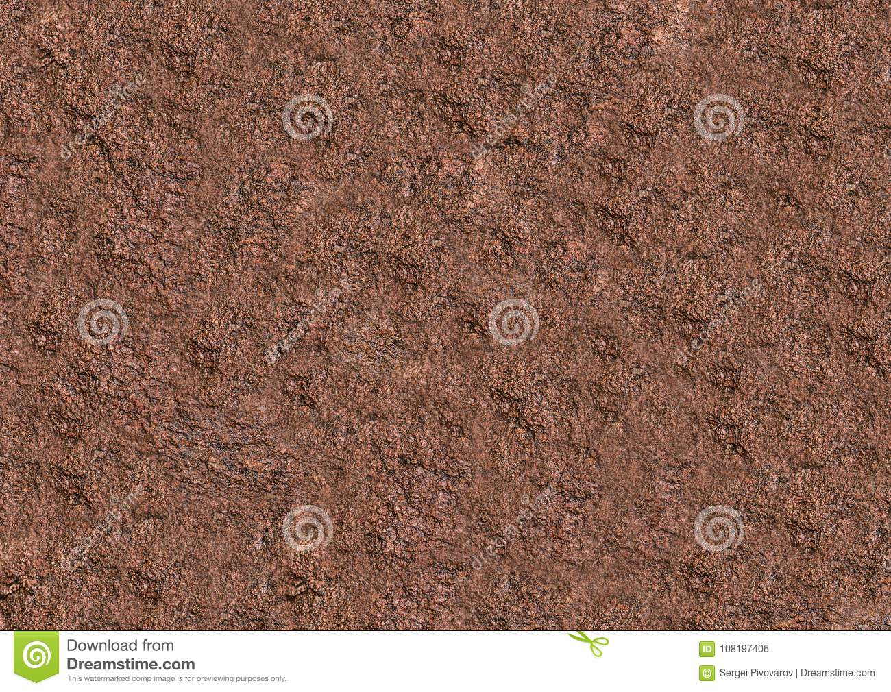 Download Stone Background Granite Texture Weathered Dark Brown Base Stock Illustration