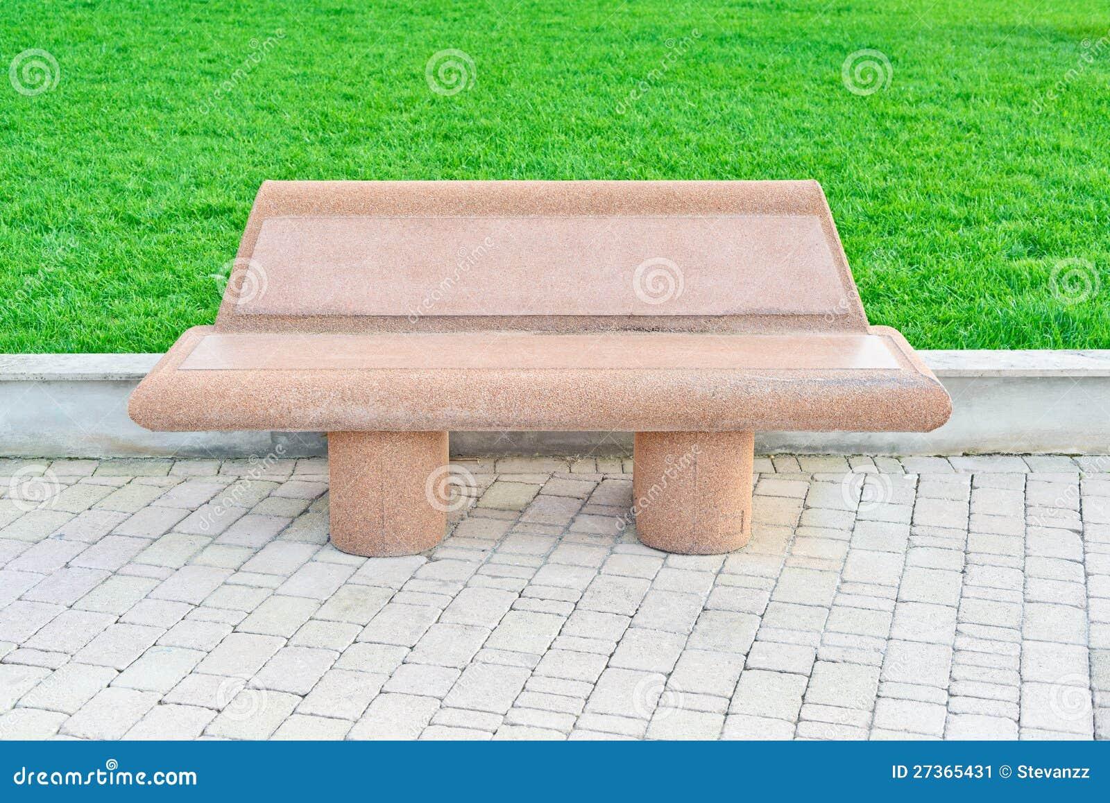 Surprising Stone Bench In A Public Garden Park Stock Image Image Of Uwap Interior Chair Design Uwaporg