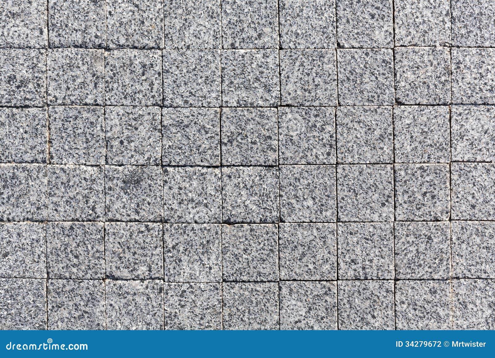 Stone Block Paving Texture Stock Photo Image Of Granite 34279672