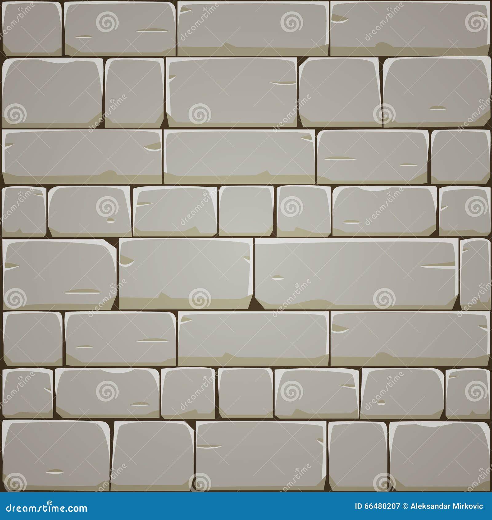 Stone Block Wall stock vector  Illustration of exterior