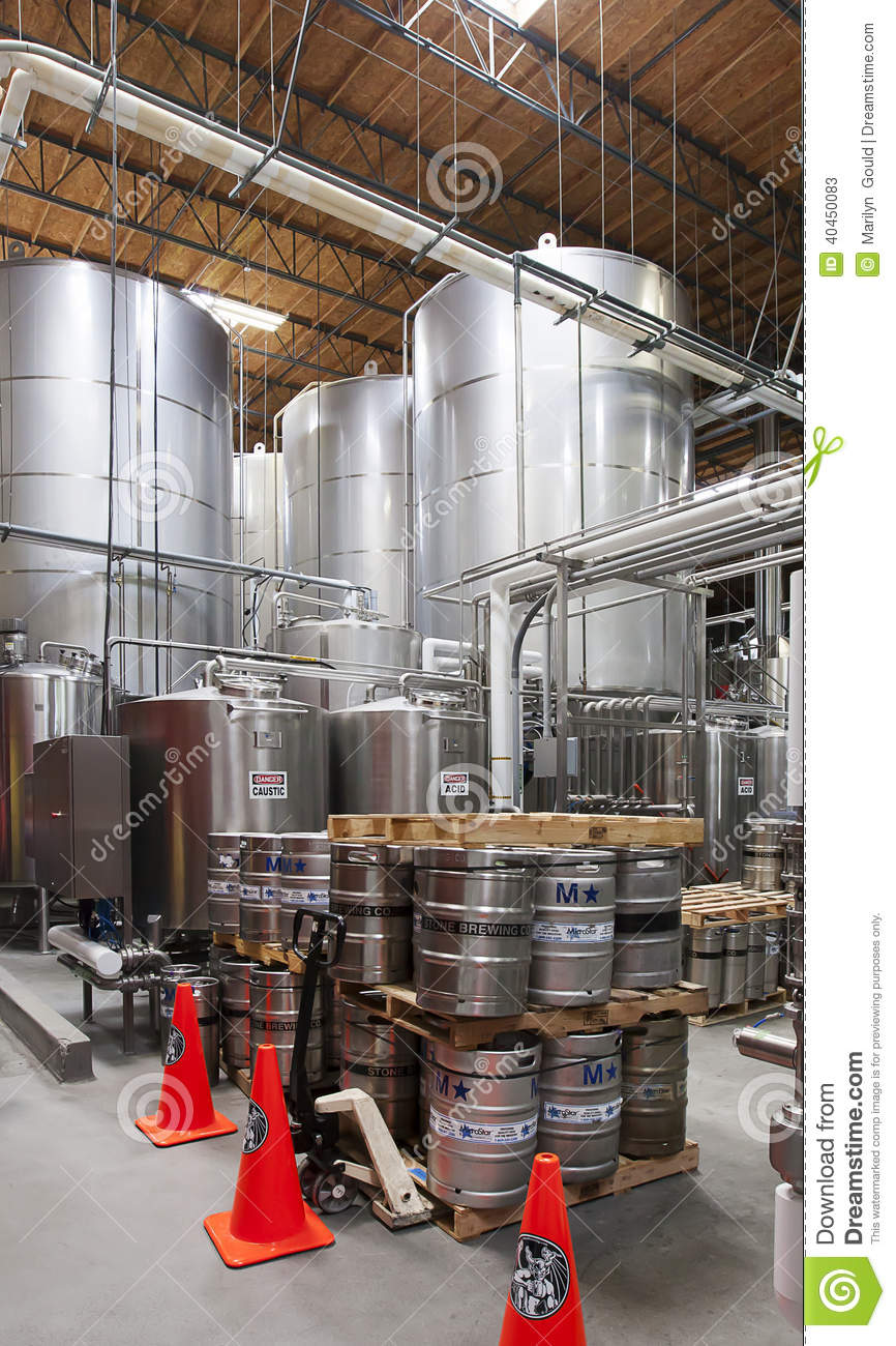 Stone brewery escondido california editorial stock photo for Stone brewery escondido