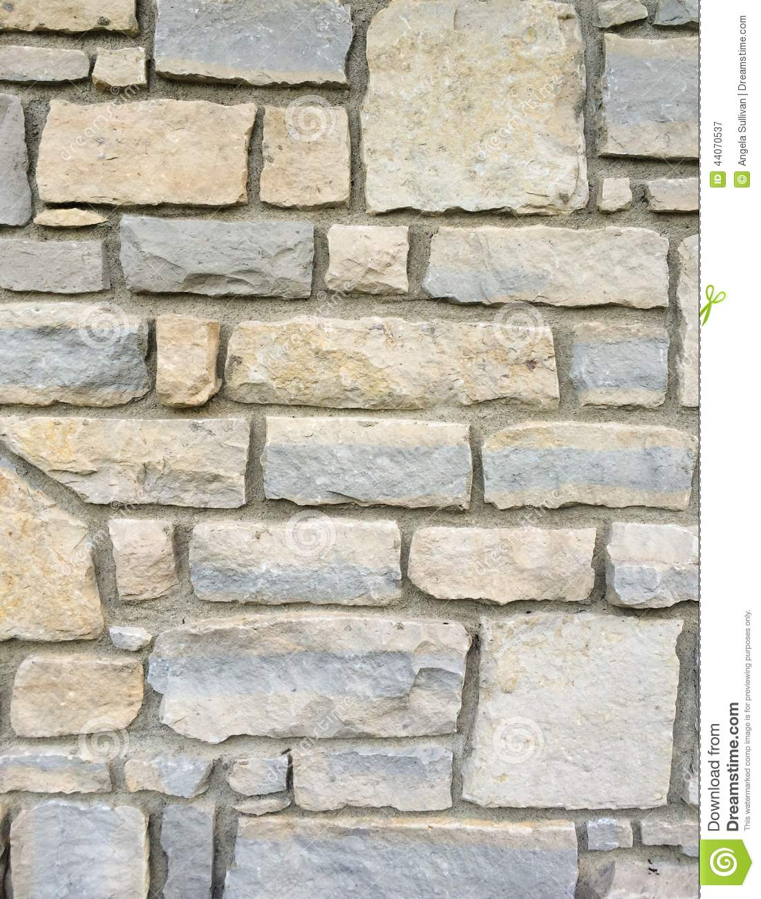 Stone brick wall exterior with mortar stock photo image 44070537 - Revetement mural exterieur ...