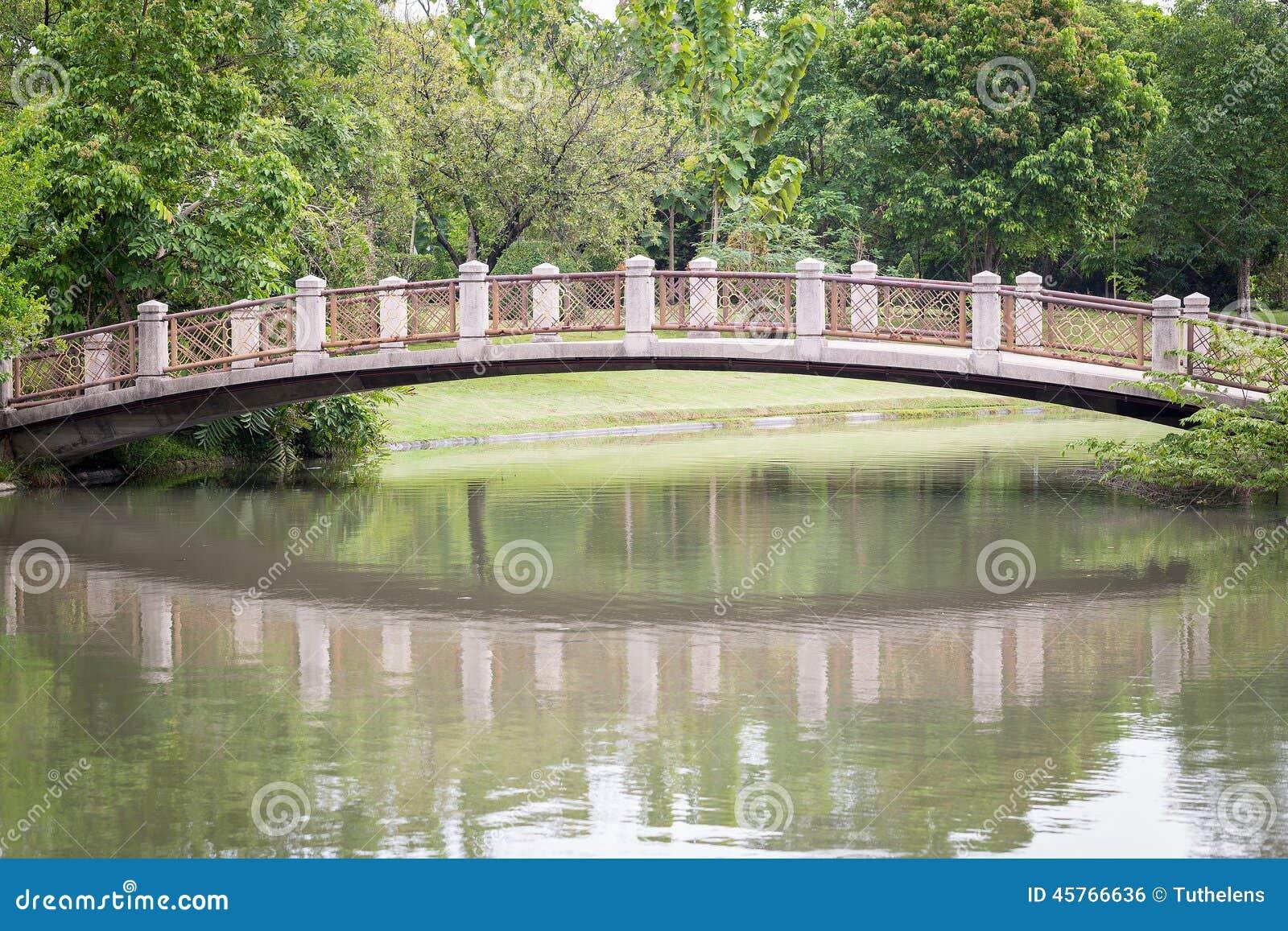 Stone Bridge Stock Photo Image Of Peace Asian Peaceful