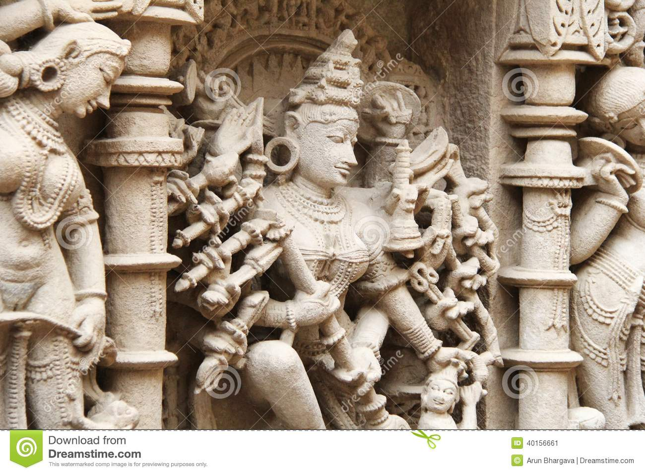 Stone carving fine art stock image of asian