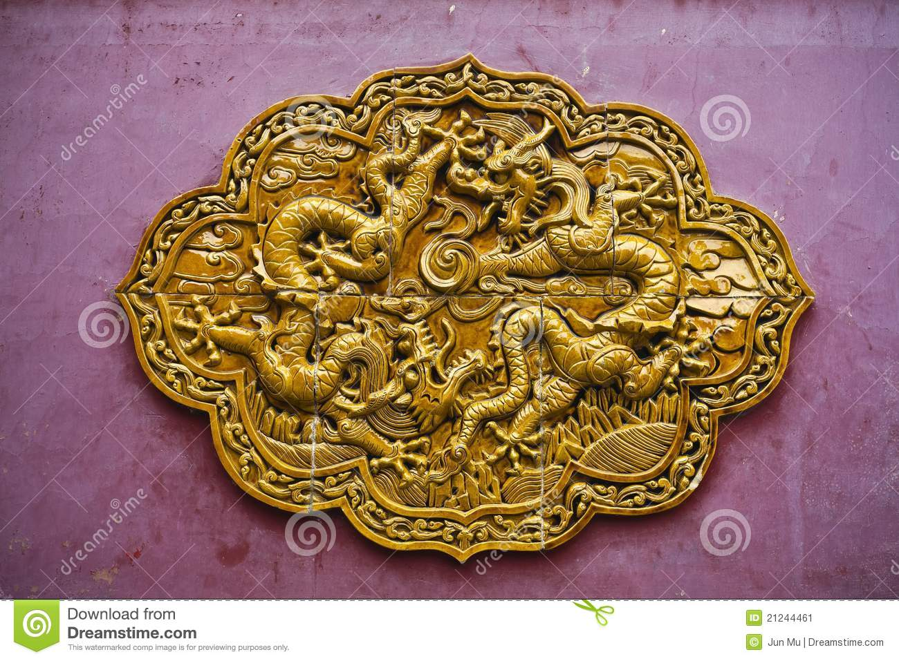 Stone carving on the wall stock image image 21244461 for Exquisite stone