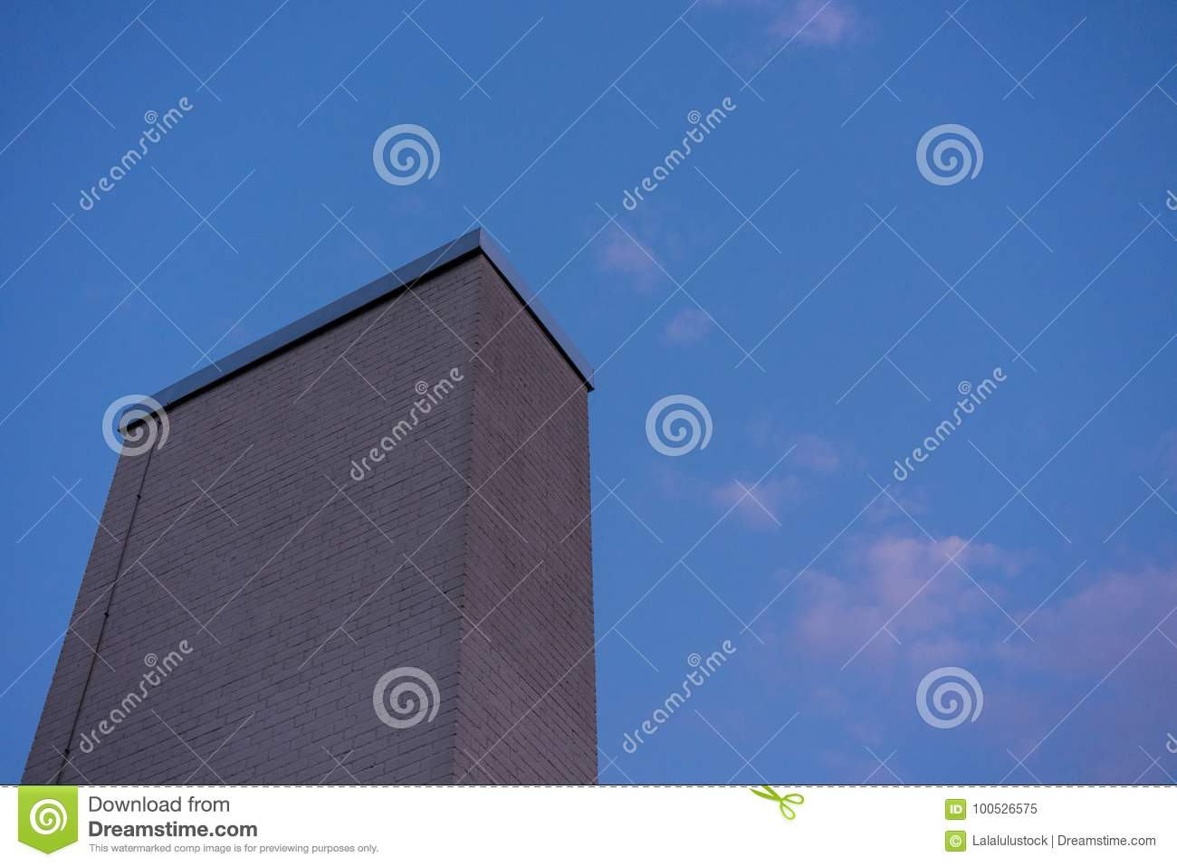 Download Stone Chimney Modern Design Architecture With Night Blue Sky Stock Image - Image of geological & Stone Chimney Modern Design Architecture With Night Blue Sky Stock ...