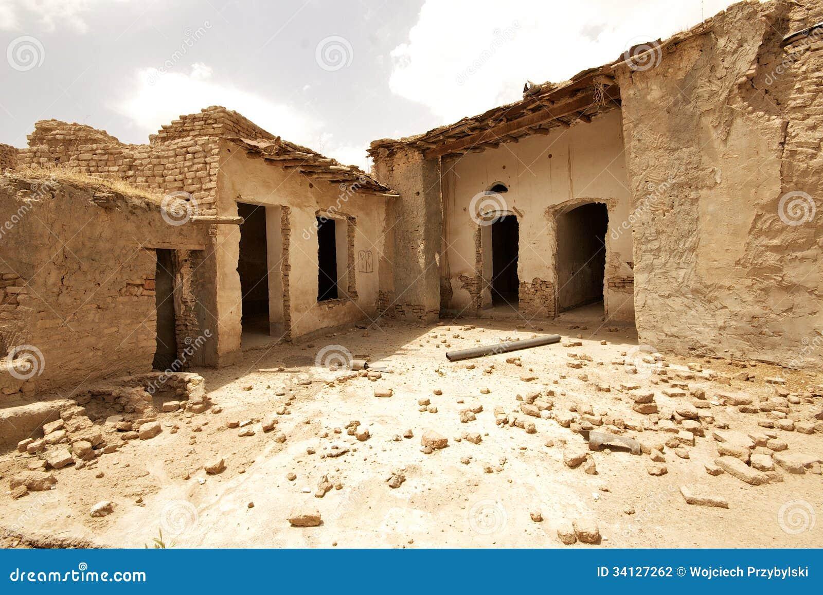 Stone And Clay House In Arbil Citadel, Kurdistan, Iraq