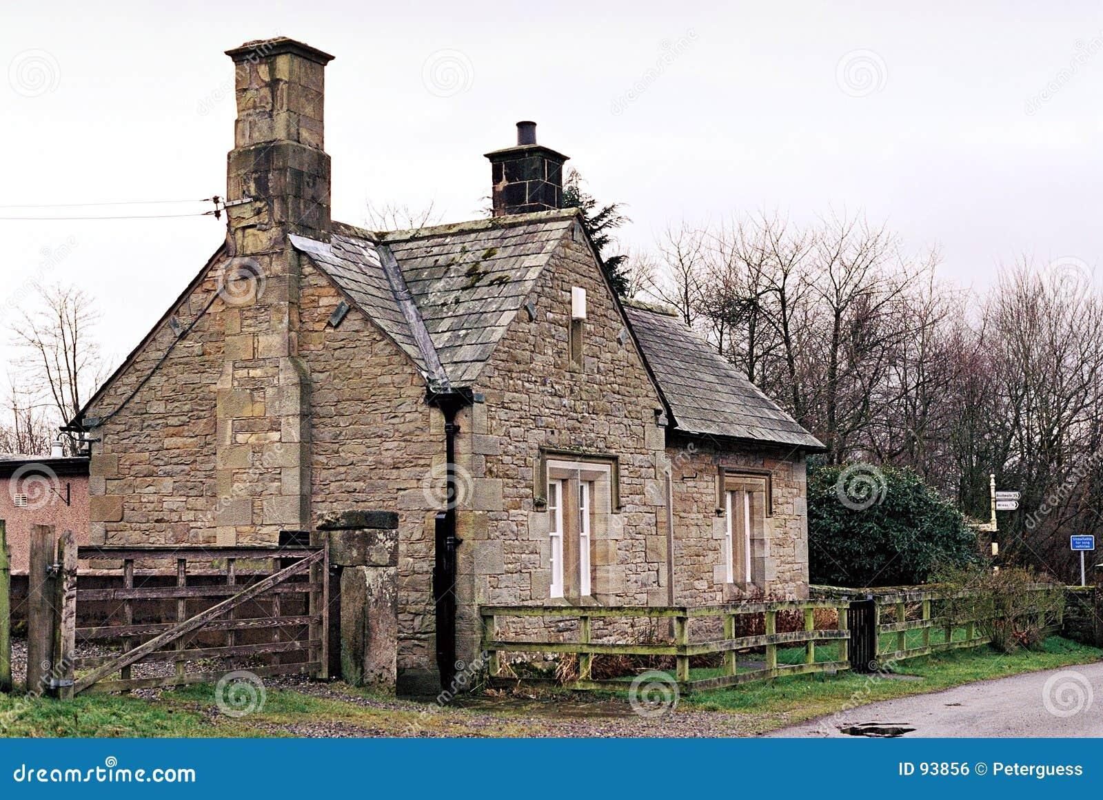 royalty free stock photo download stone cottage - Stone Farmhouse Exteriors