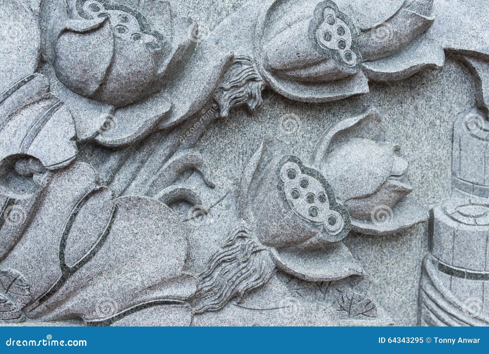 Stone craft stock photo image