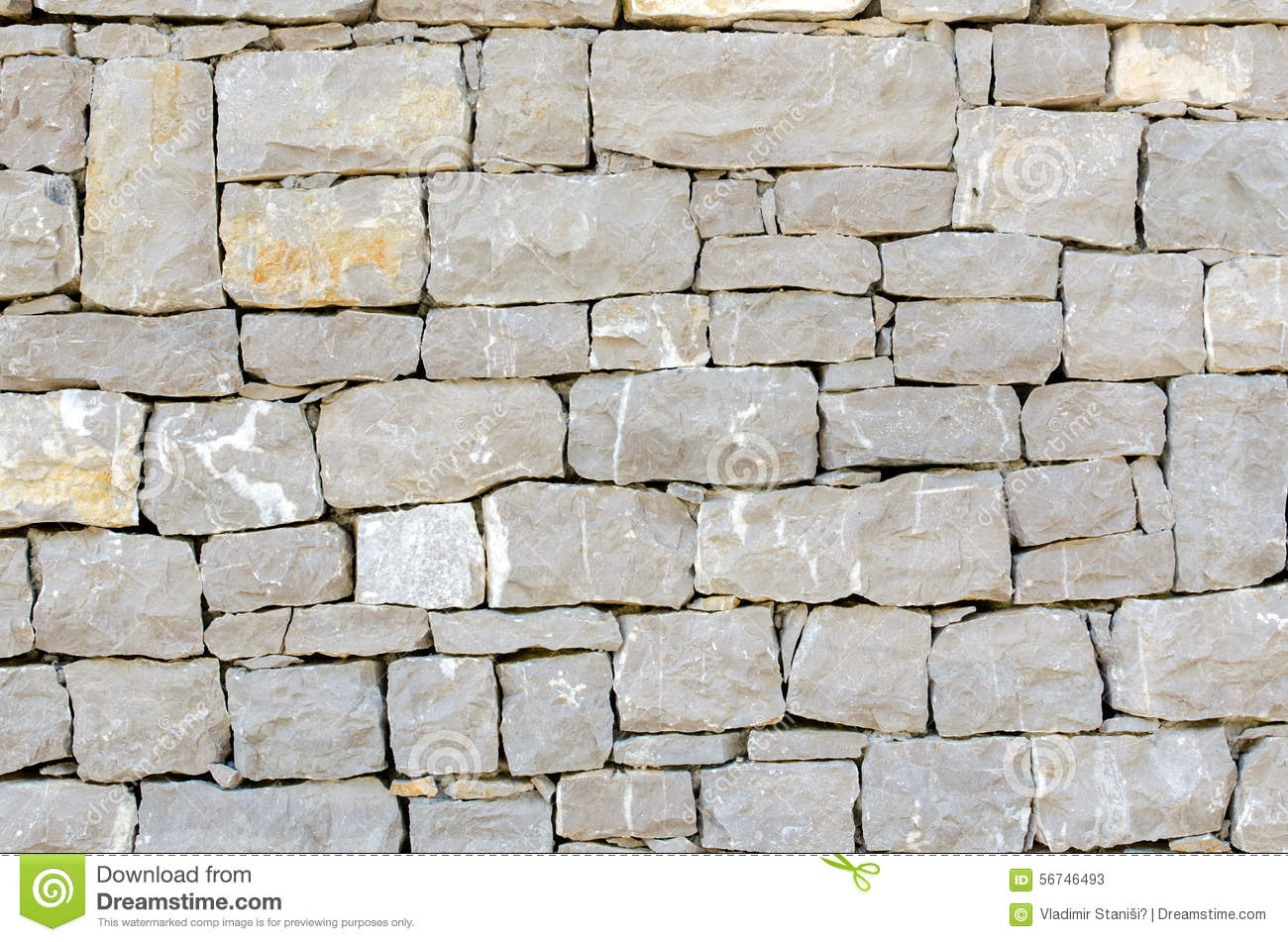 Stone Facade Texture Stock Photo Image 56746493