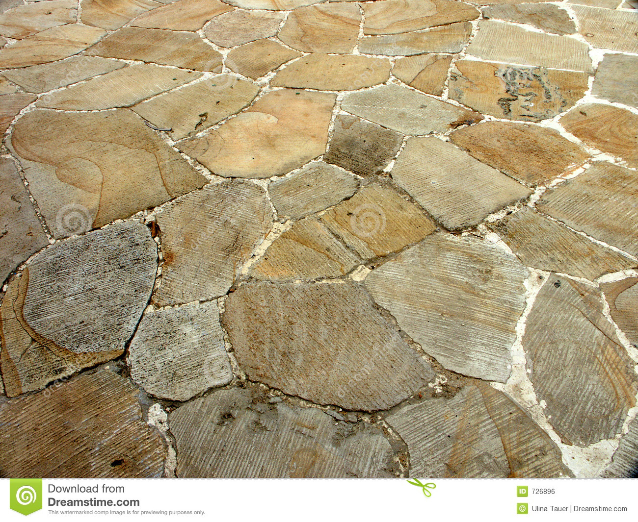 Stone Floor Royalty Free Stock Image Image 726896