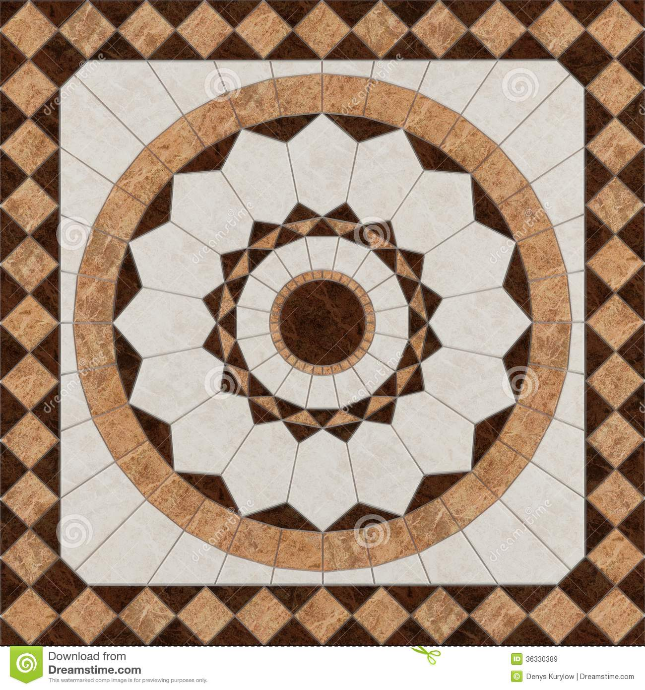 Stone And Tile Works : Stone floor pattern tiles royalty free stock images