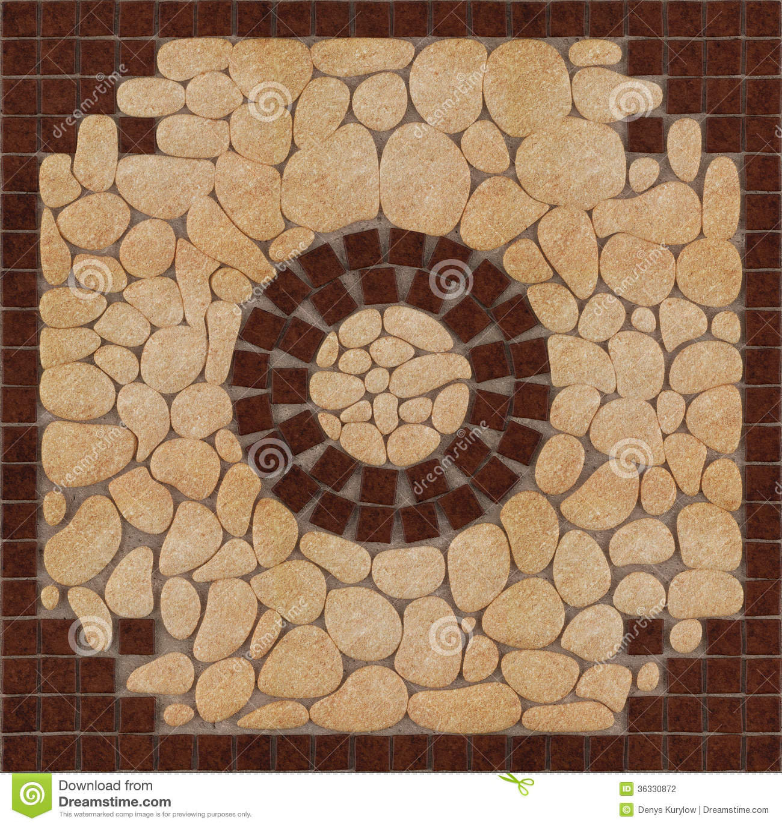 Stone Floor Patterns : Stone floor pattern tiles stock photography image