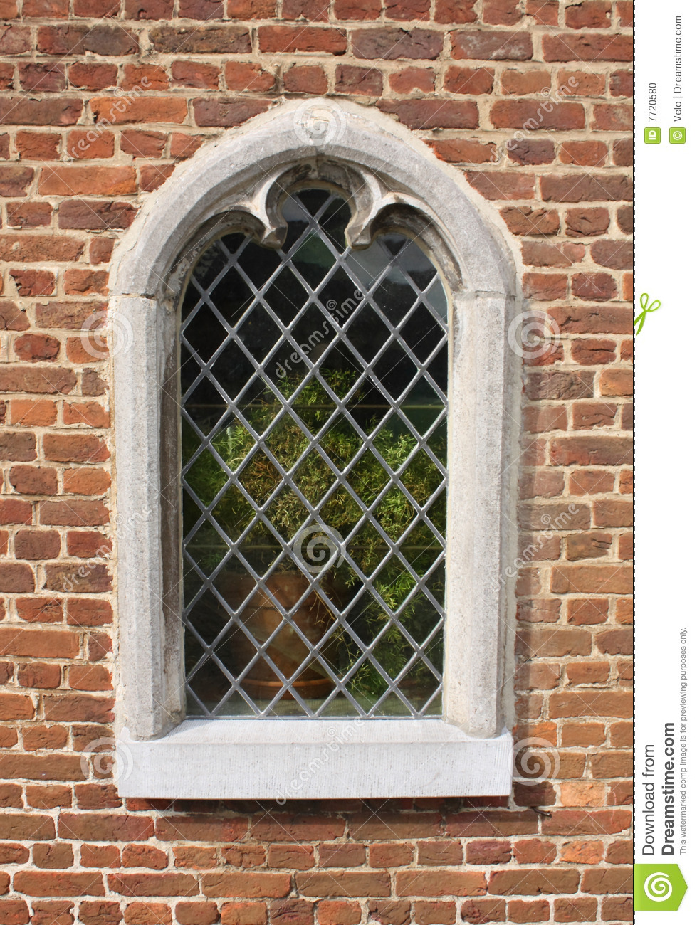 Stone Framed Window Stock Photo Image Of Sill