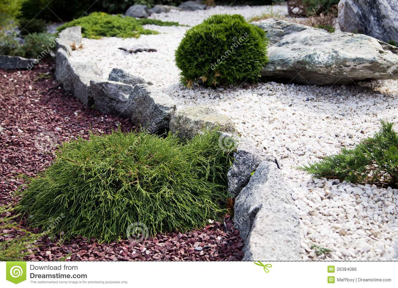 Stone Garden Royalty Free Stock Image Image 26384086