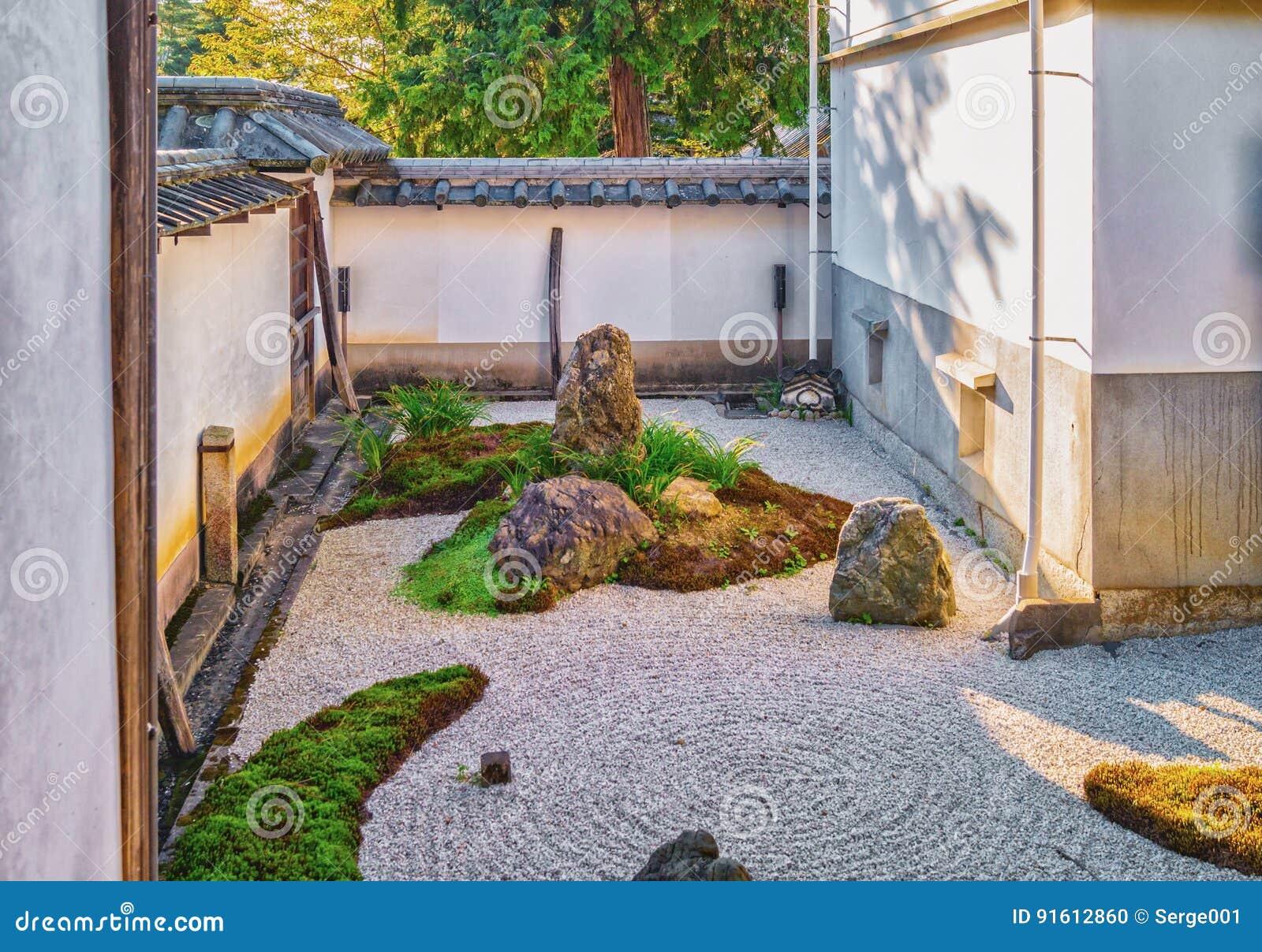 Stone garden of nanzen ji temple in kyoto stock photo image of royalty free stock photo workwithnaturefo