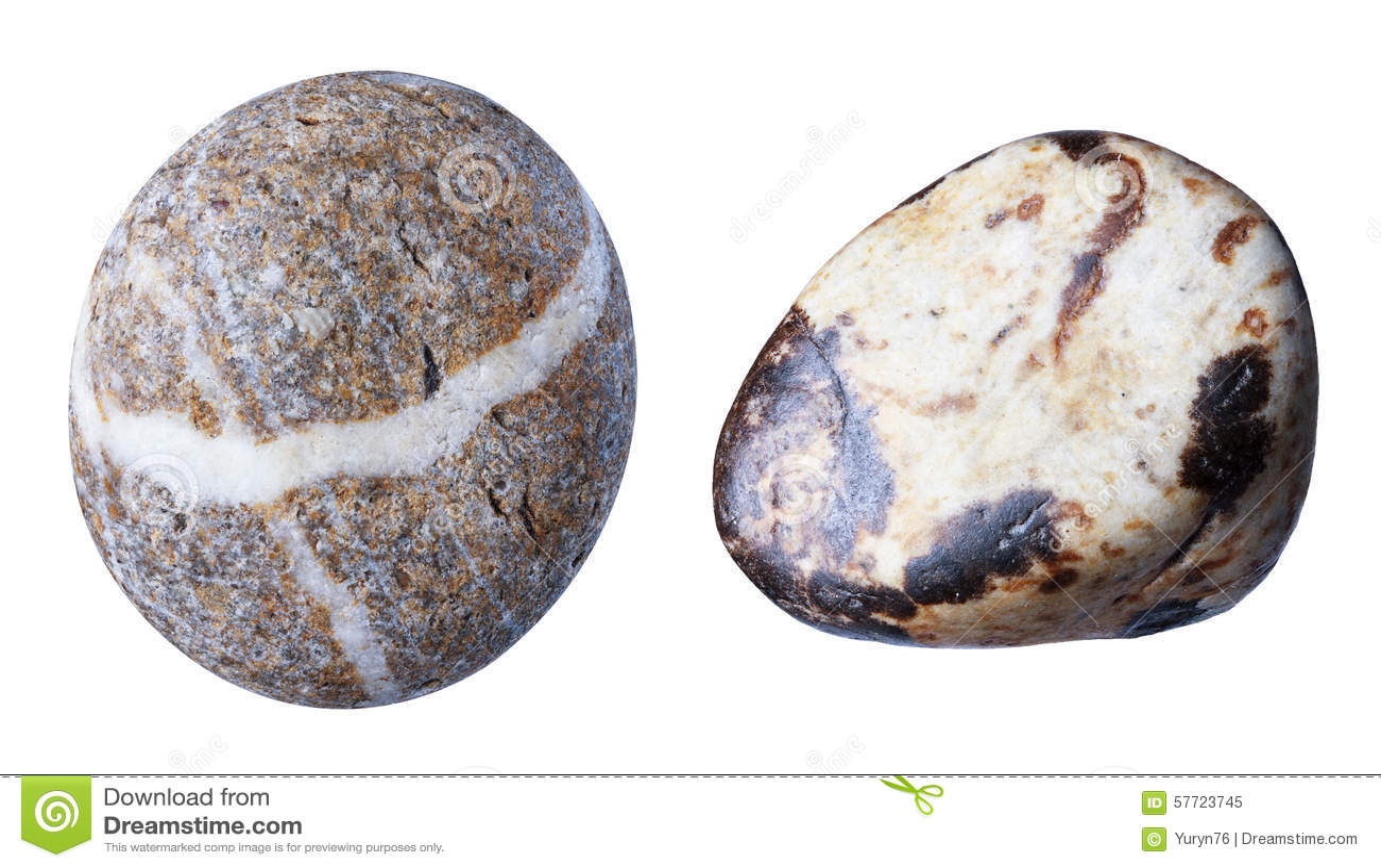 Stone, Isolate Stock Photo - Image: 57723745