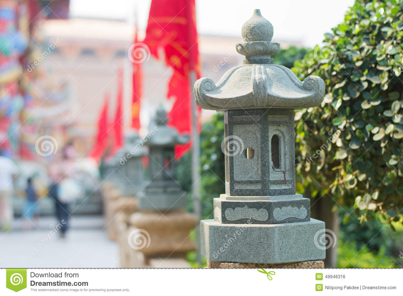 Stone Lamp Wallpapers And Backgrounds Stock Photo - Image of ... for Temple Stone Lamp  143gtk