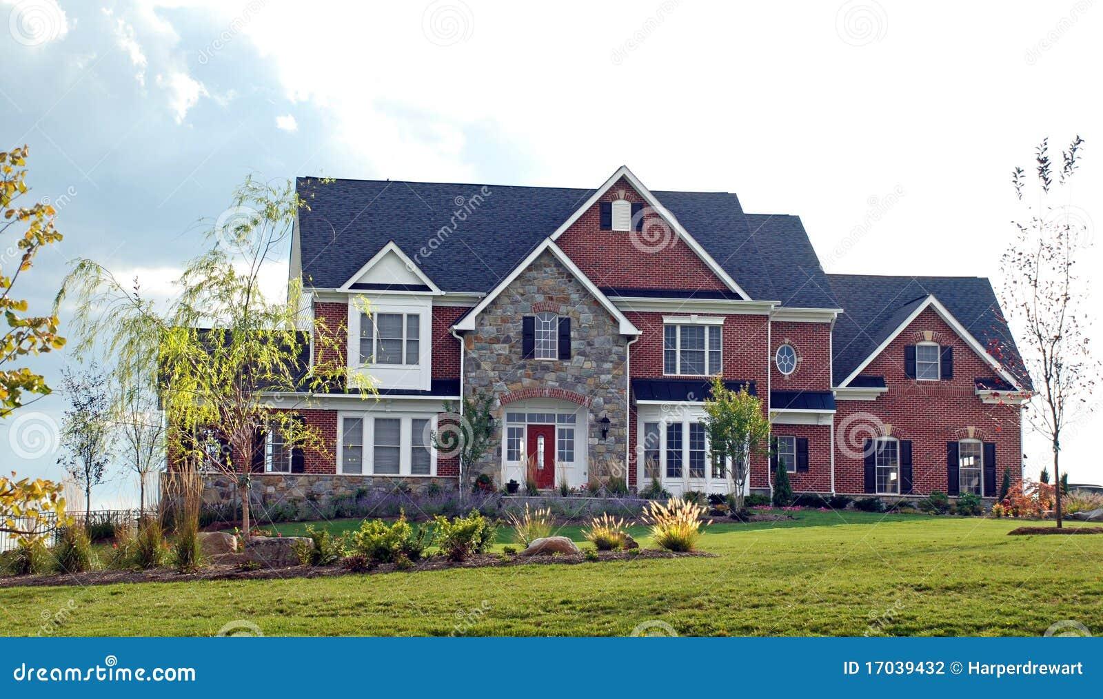 Stone Luxury Home 92 Stock Photography Image 17039432